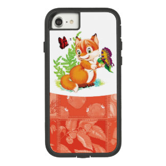fox and butterfly Case-Mate tough extreme iPhone 8/7 case