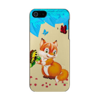 fox and butterfly incipio feather® shine iPhone 5 case