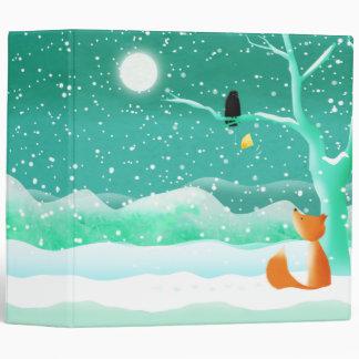 Fox and crow - binder folder
