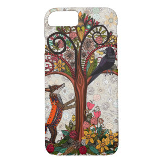 fox and crow iPhone 8/7 case