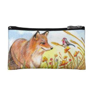 Fox and Little Bird Makeup Bags