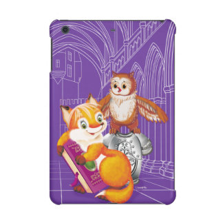 fox and owl iPad mini cover