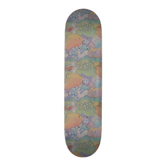 fox and rabbit skate board decks