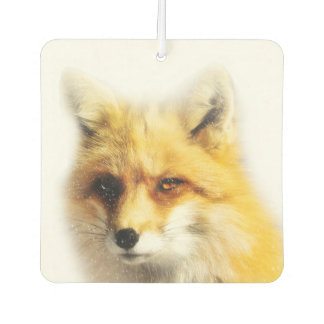 Fox and Snow Wildlife Air Freshener