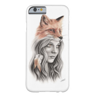 Fox and the girl Spiritual Phone Case
