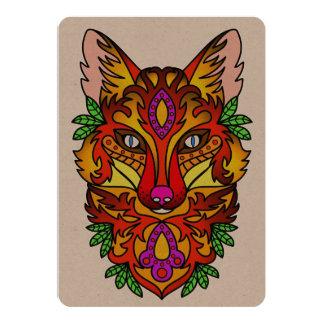 Fox Animal Card