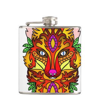 Fox Animal Hip Flask