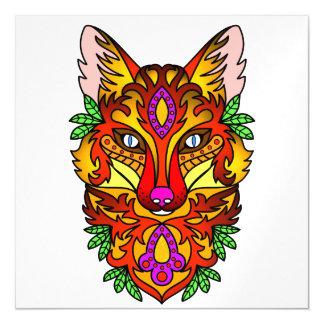 Fox Animal Magnetic Invitations