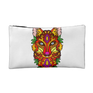 Fox Animal Makeup Bag