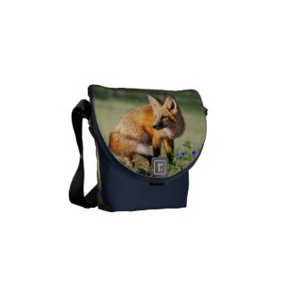 Fox Animal Office Home School Personalize Commuter Bag