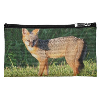Fox Animal Office Shower Party Art Cosmetics Bags