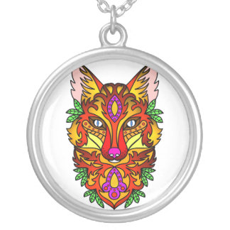 Fox Animal Silver Plated Necklace