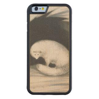 Fox arctique, de 'récit d'un deuxième voyage coque iPhone 6 bumper en érable