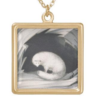 Fox arctique, de 'récit d'un deuxième voyage dedan pendentif personnalisé
