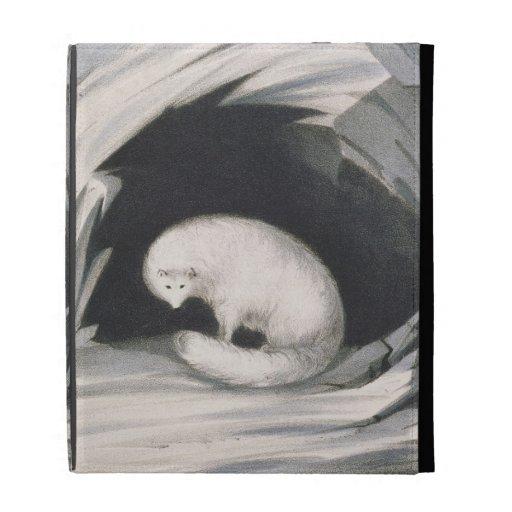 Fox arctique, de 'récit d'un deuxième voyage dedan étuis iPad folio