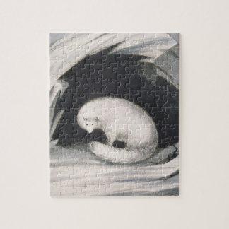 Fox arctique, de 'récit d'un deuxième voyage dedan puzzle avec photo