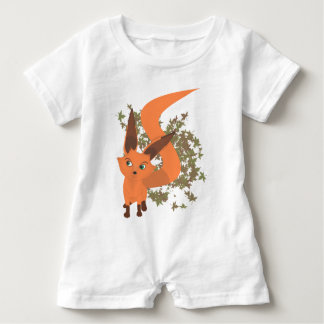 Fox Baby Romper