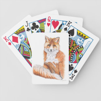 Fox Bicycle Playing Cards
