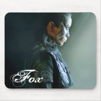 Fox Character Mouse Pad