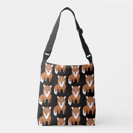 Fox Design Crossbody Bag