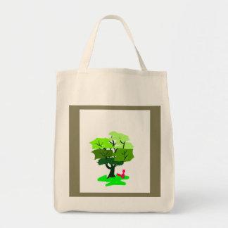 Fox Design Tote Bag