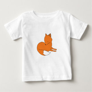 Fox Drawing Baby T-Shirt
