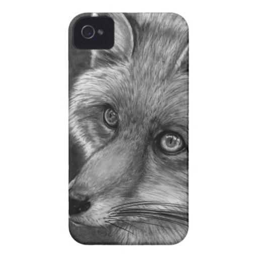 Fox Face Case-Mate Blackberry Bold 9700/9780 Case Blackberry Bold Covers