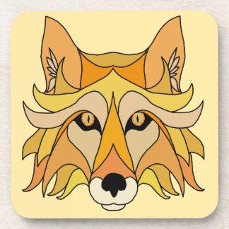 Fox Face Coaster