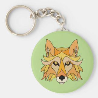 Fox Face Keychain