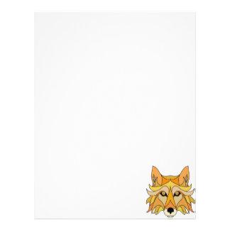 Fox Face Letterhead