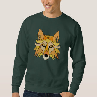 Fox Face Sweatshirt