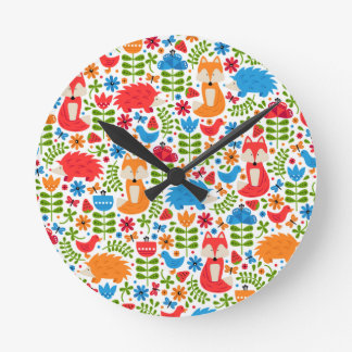 Fox Forest Clock