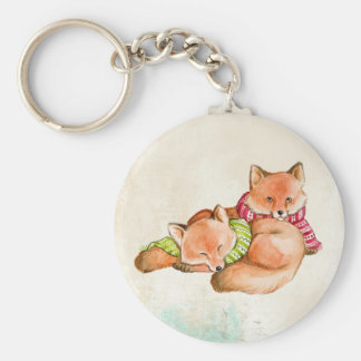 FOX GIFTS - ADORABLE CUSTOMIZABLE FOXES KEYCHAIN