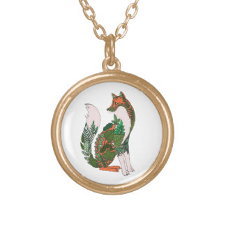 Fox Gold Plated Necklace