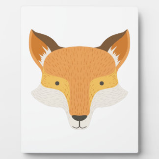 Fox Head As A National Canadian Culture Symbol Plaque