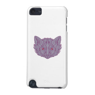 Fox Head Mono Line iPod Touch (5th Generation) Case