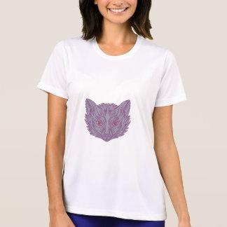 Fox Head Mono Line T-Shirt