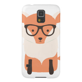 Fox Hipster Galaxy S5 Cover