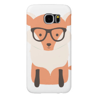 Fox Hipster Samsung Galaxy S6 Cases
