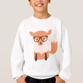 Fox Hipster Sweatshirt