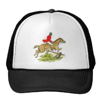 Fox Hunt Jumper Hunter Horseback Riding Trucker Hat