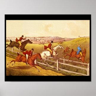 Fox Hunting', Henry Alken_Engravings Poster
