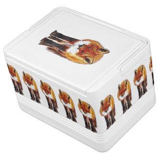 fox igloo cooler, woodland picnic gift