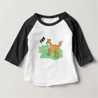 fox in the field baby T-Shirt