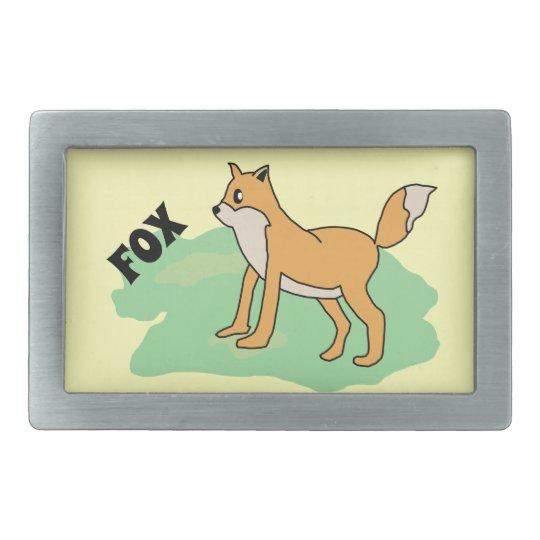 fox in the field belt buckles