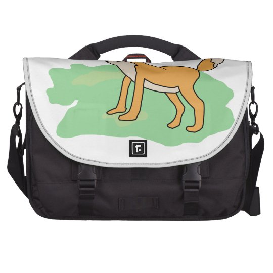 fox in the field computer bag
