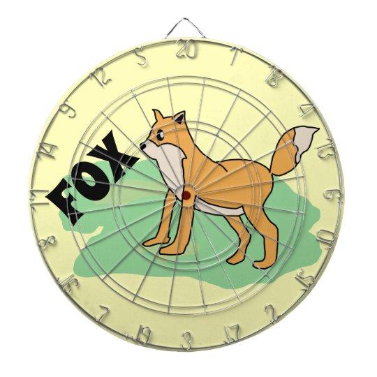 fox in the field dartboard