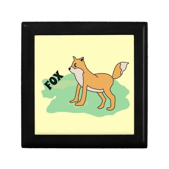 fox in the field gift box