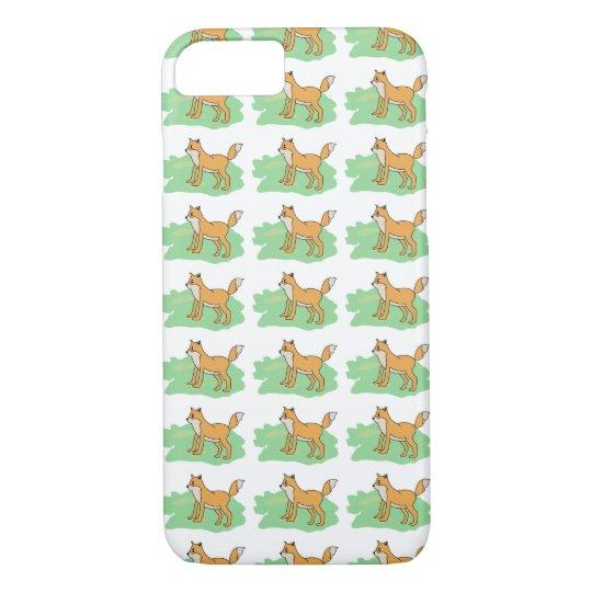 fox in the field iPhone 8/7 case
