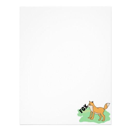 fox in the field letterhead